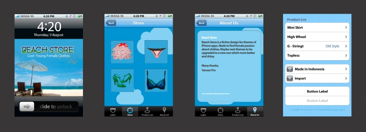 iPhone Apps Design